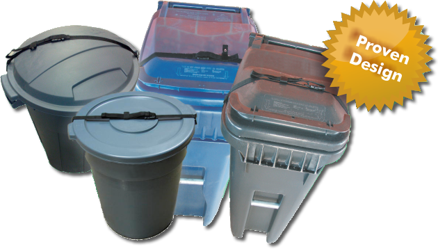 Raccon Solution for Different Garbage Bin