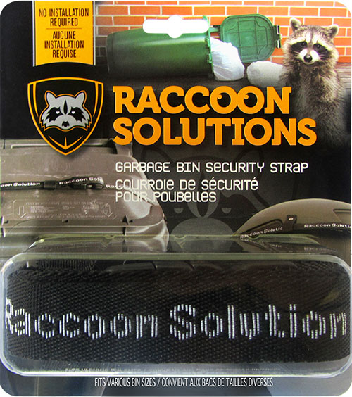 Raccoon Solutions for Garbage Bin